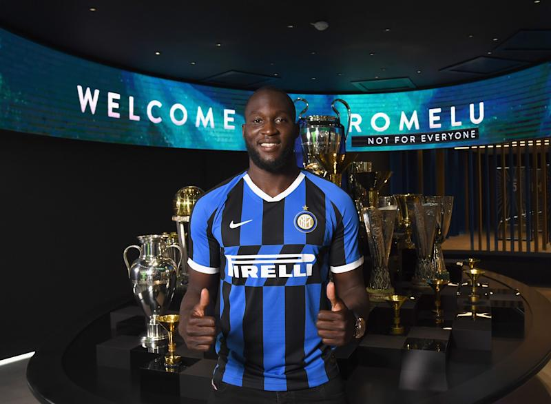Romelu Lukaku moved to Inter Milan from Manchester United