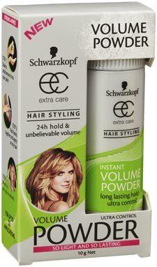<p>The winner in the hair styling category is Schwarzkopf Extra Care - Instant Volume Powder.</p>