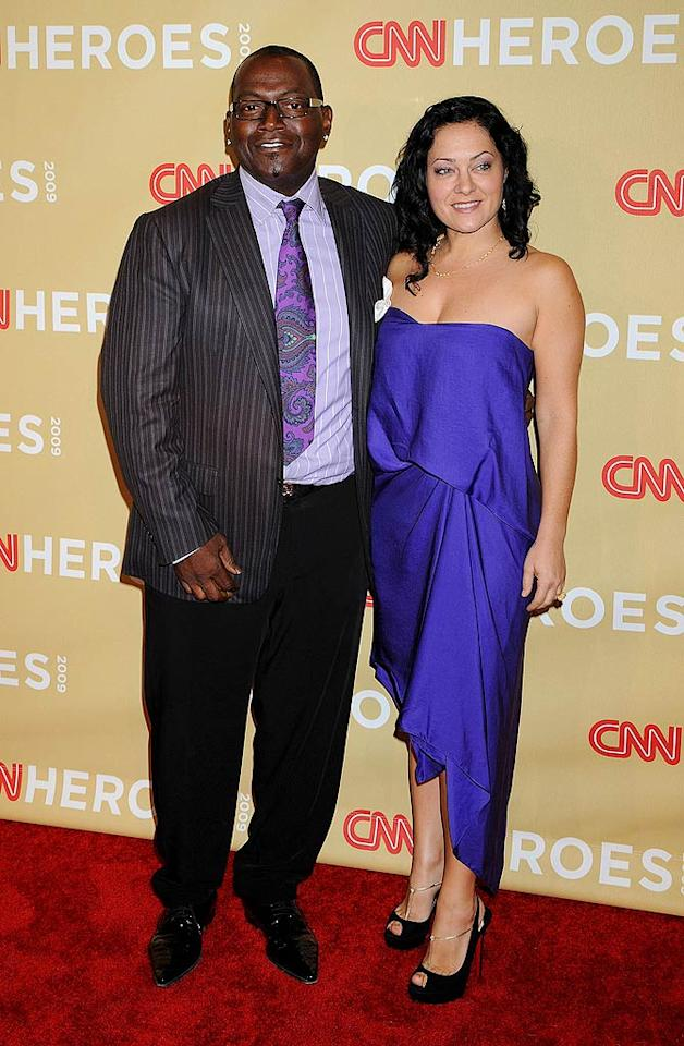 """Randy Jackson stepped out with his wife Erika for the event. While we love the """"Idol"""" judge, his paisley tie/striped shirt/striped jacket combo was a little too busy for our taste. Jeffrey Mayer/<a href=""""http://www.wireimage.com"""" target=""""new"""">WireImage.com</a> - November 21, 2009"""