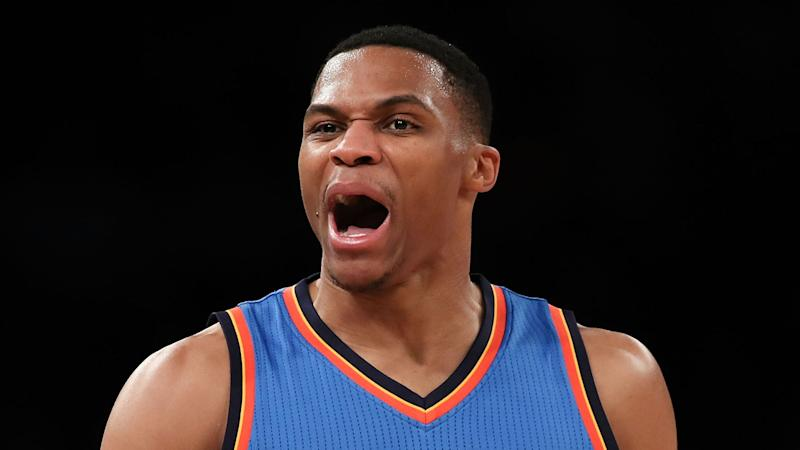 Another triple-double for Westbrook, Bulls edge to win