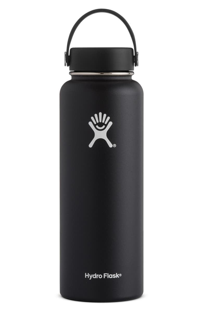 <p>Motivate them to stay hydrated with this <span>Hydro Flask 40-Ounce Wide Mouth Cap Bottle</span> ($43).</p>