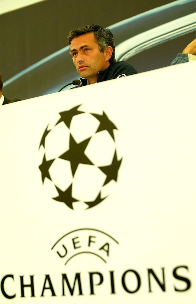 Jose Mourinho won the Champions League with Porto in 2004 – and attracted Liverpool at the time