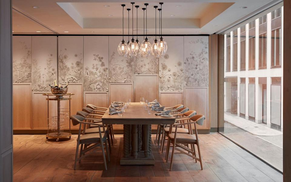 The private dining room at Hide