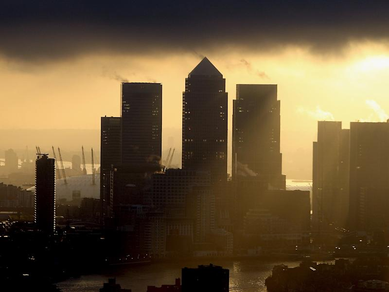Manfred Weber says the EU has its sights set on London's business: Getty