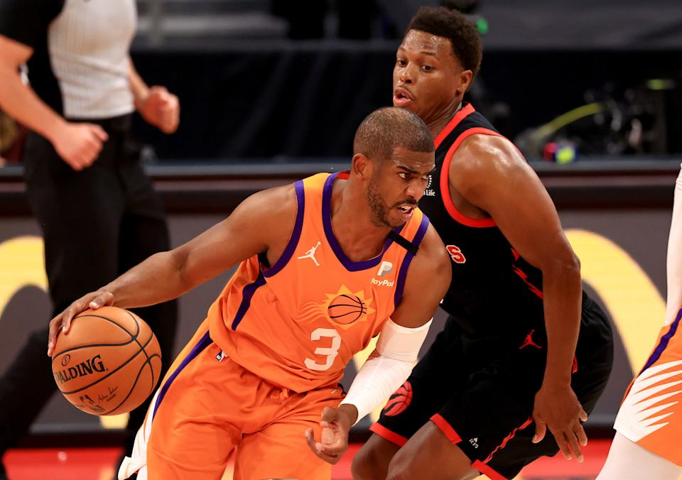 Chris Paul and Kyle Lowry each cashed in during free agency as teams threw caution to the wind and money at old guards. (Mike Ehrmann/Getty Images)