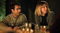 """<p>If you want a movie that will tug at your heartstrings, look no further. Kumail Nanjiani and his wife, Emily V. Gordon, wrote the most beautiful film about their actual love story. Nanjiani plays himself alongside Zoe Kazan. Oh, and it's also hilarious. Judd Apatow served as a producer, so you know it'll have that perfect blend of heart and humor.</p> <p><a href=""""https://www.amazon.com/Big-Sick-Kumail-Nanjiani/dp/B089XYBLJV/ref=sr_1_1?crid=3ROZYEF6NBITE&dchild=1&keywords=the+big+sick&qid=1608332394&s=instant-video&sprefix=the+bug+sick%2Cinstant-video%2C169&sr=1-1"""" rel=""""nofollow noopener"""" target=""""_blank"""" data-ylk=""""slk:Available to stream on Amazon Prime"""" class=""""link rapid-noclick-resp""""><em>Available to stream on Amazon Prime</em></a></p>"""