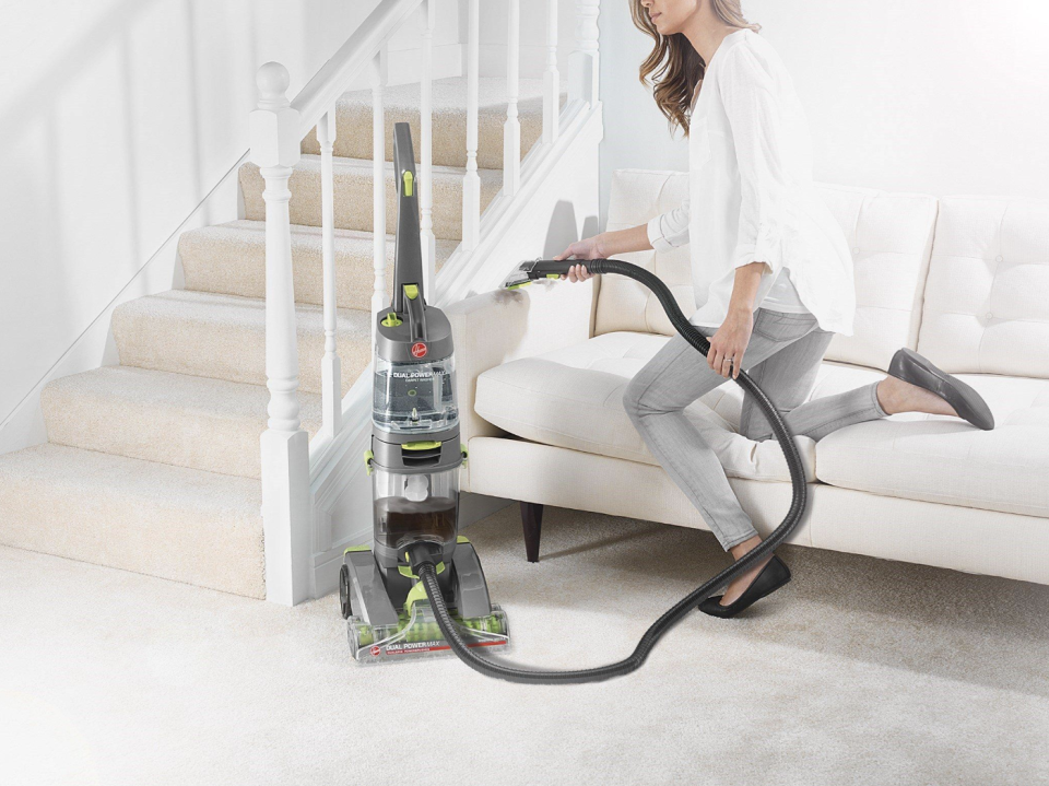 Hose up, pet fur and dander down. (Photo: Walmart)