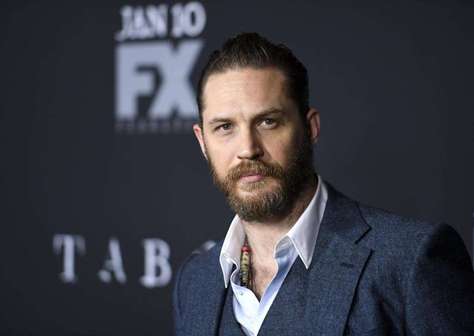 "LOS ANGELES, CA – JANUARY 09: Actor Tom Hardy attends the premiere of FX's ""Taboo"" at DGA Theater on January 9, 2017 in Los Angeles, California. (Photo by Matt Winkelmeyer/Getty Images)"