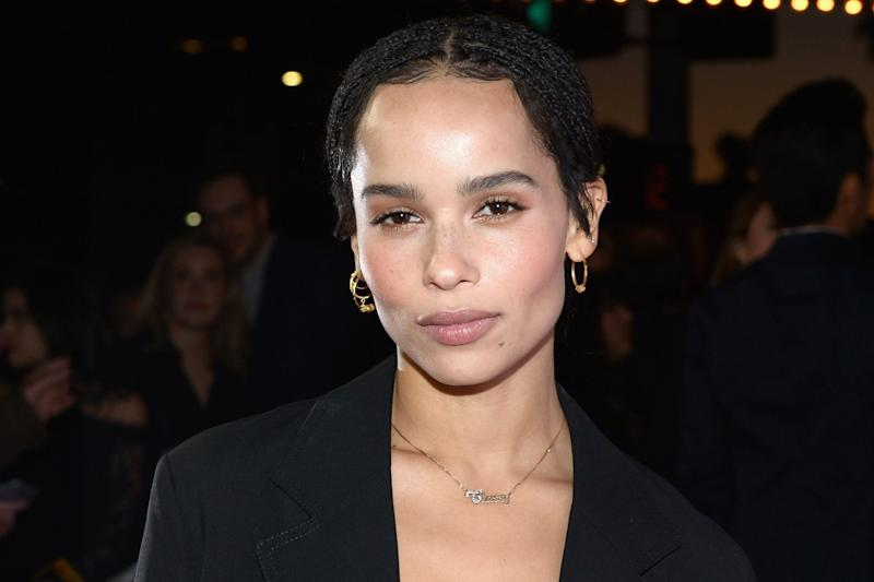 The Two-Second Hack Zoë Kravitz Uses When She Gets a Breakout