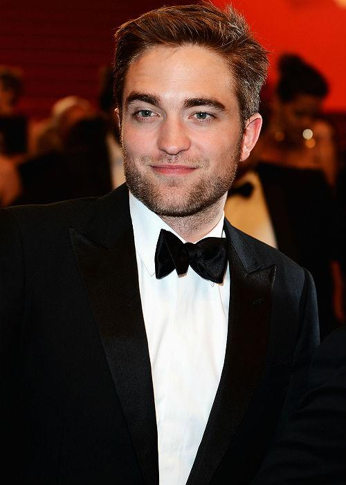 Following Lewis Hamilton was the 'Twilight' actor Robert Pattinson.