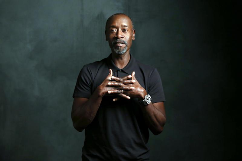 Ocean's Eleven star Don Cheadle says a friend told him an anecdote exposing President Trump's true feelings about African-Americans: Getty
