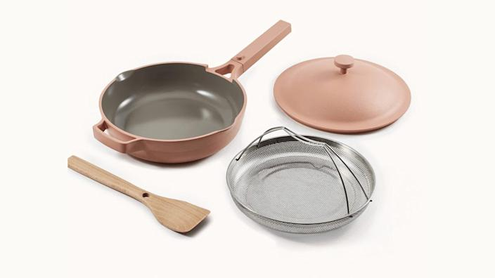 This multi-function pan is a certified win for hard-working moms.