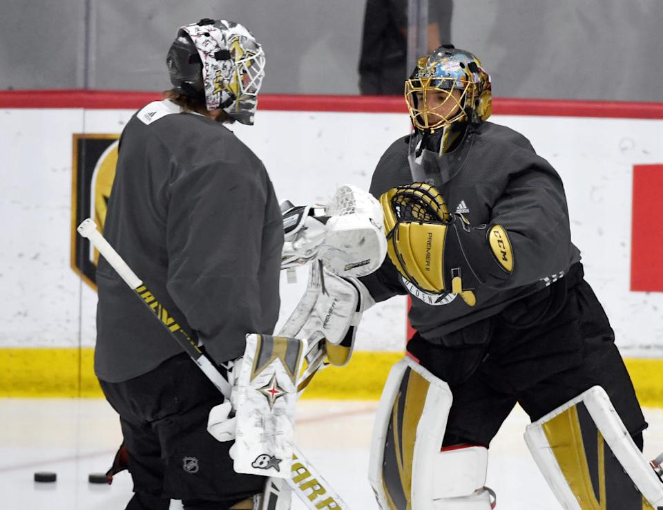 Lehner vs. Marc-Andre Fleury Western Conference Round Robin preview NHL Return to Play