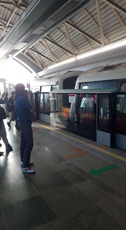 <p>People look after a mass transit train collision at a platform at Joo Koon station in Singapore November 15, 2017. TKY/Social media via REUTERS MANDATORY CREDIT. THIS IMAGE HAS BEEN SUPPLIED BY A THIRD PARTY. NO RESALES. NO ARCHIVES. </p>