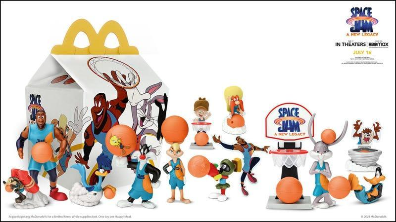 space jam toy lineup