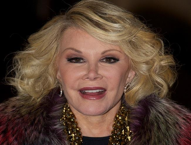 Joan Rivers Ignores Lawyers Demanding Apology for Crass Clevelend Kidnap Comments