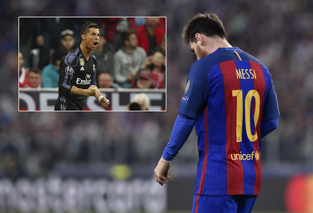 Cristiano Ronaldo and Lionel Messi had differing European fortunes