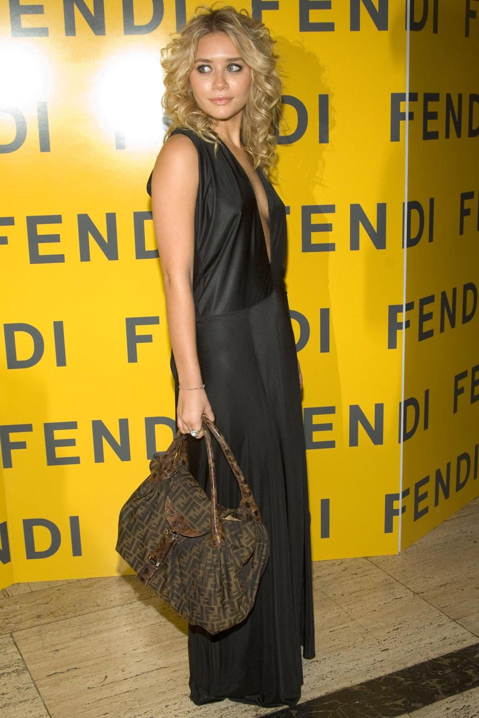 <p>Fendi printed totes were chic enough for the Olsens, and Carrie Bradshaw made that fancy baguette option famous. </p>