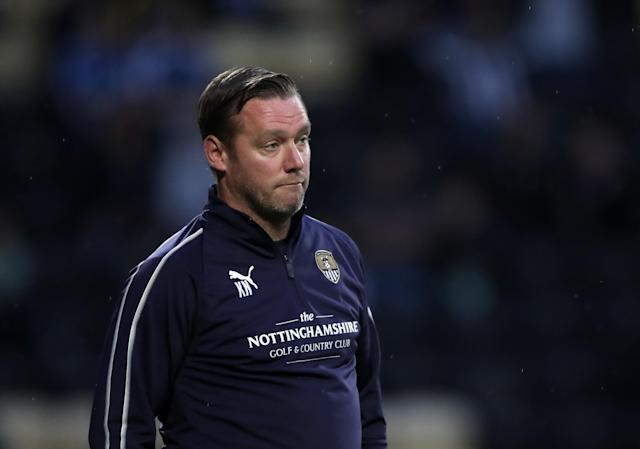 Kevin Nolan leaves Notts County bottom of League Two following a fourth successive defeatue Tqo