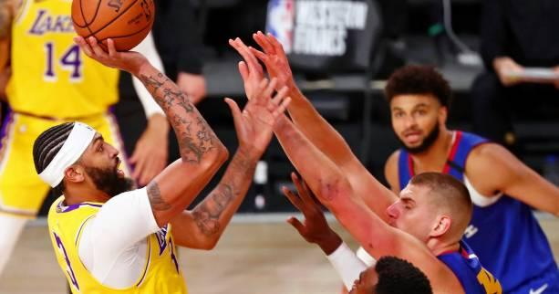 Basket - NBA - Les Los Angeles Lakers démarrent fort contre les Denver Nuggets