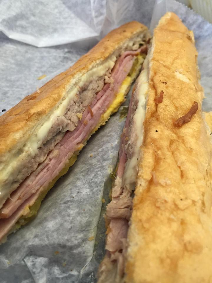 """<p>With 54 tips and reviews. Chris E, writes, """"Cubano sandwich is fantastic. Watch them slather it with butter and throw it on the plancha. Longest 5 minutes of your life.""""<a href=""""https://foursquare.com/v/las-olas-cafe/4a82e943f964a52083f91fe3"""">644 6th St.</a></p>"""