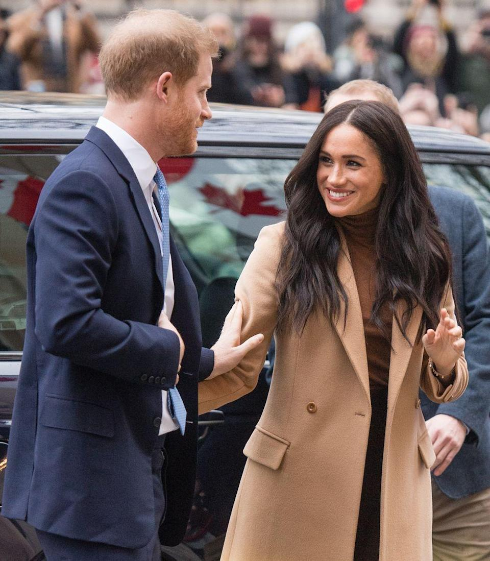 <p>The royal couple looked adorable following their six-week break in Canada as they arrived at Canada House in London to thank the country for its hospitality and support during their stay.</p><p>When the pair arrived at Canada house, they were seen greeting onlookers, holding hands and touching each other's arms while smiling. </p>