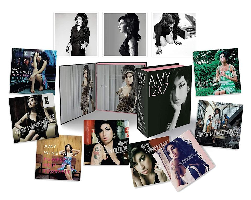 """<h1 class=""""title"""">Amy Winehouse: 12x7: The Singles Collection</h1>"""