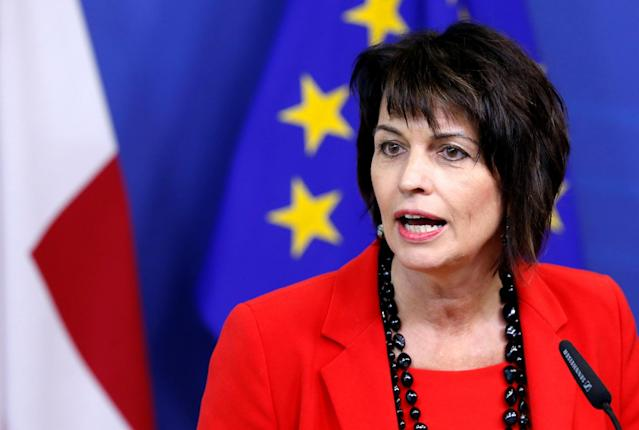 <p>No. 3: Doris Leuthard, President of Switzerland<br>Salary: $401,929 (400,000 Swiss francs)<br>(Reuters) </p>