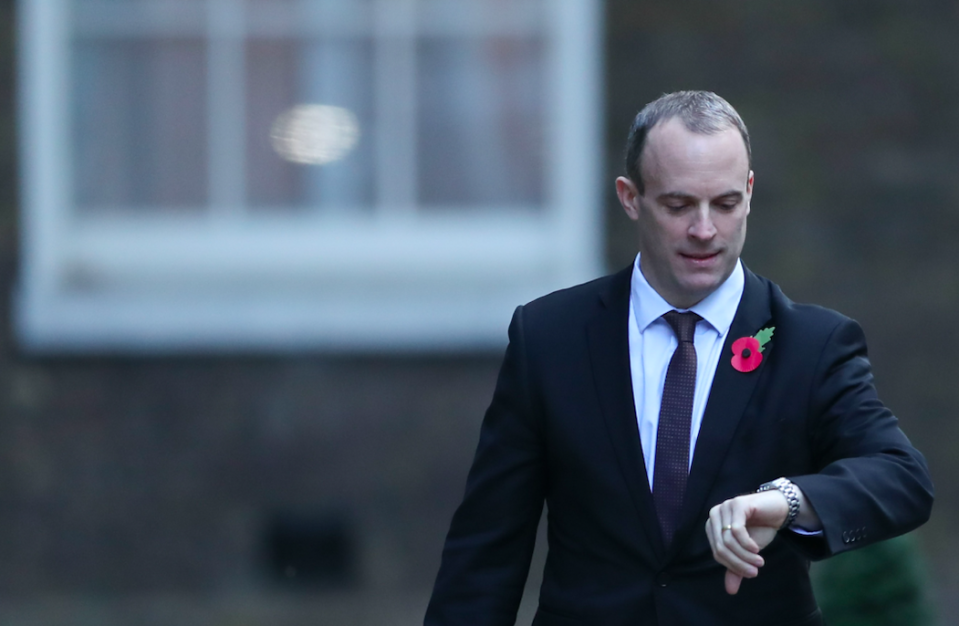 <em>Former Brexit Secretary Dominic Raab is thought to harbour prime ministerial ambitions (Getty)</em>