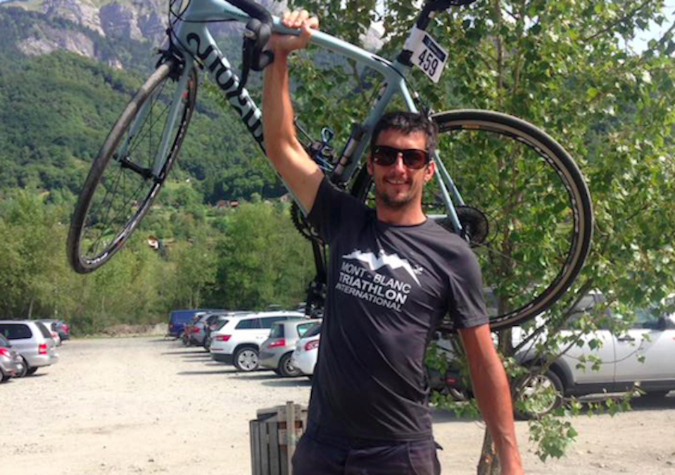 Marc Sutton was killed while cycling in the French Alps (Picture: Facebook)