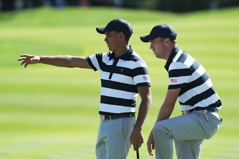United States lead Internationals after Presidents Cup opening day