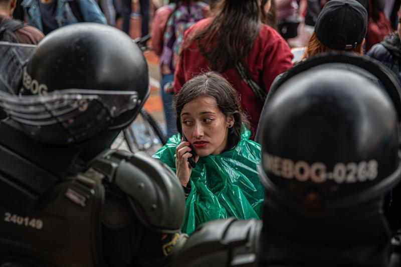 Police Tactics Fuel Rage in Fifth Day of Colombia Protests