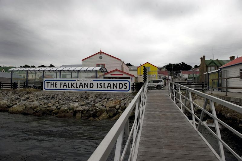 View of Port Stanley in the Falkland Islands on March 27, 2012 which have been publicly clashed over by Great Britain and Argentina but Preident Macri hopes to end those tensions (AFP Photo/Martin Bernetti)