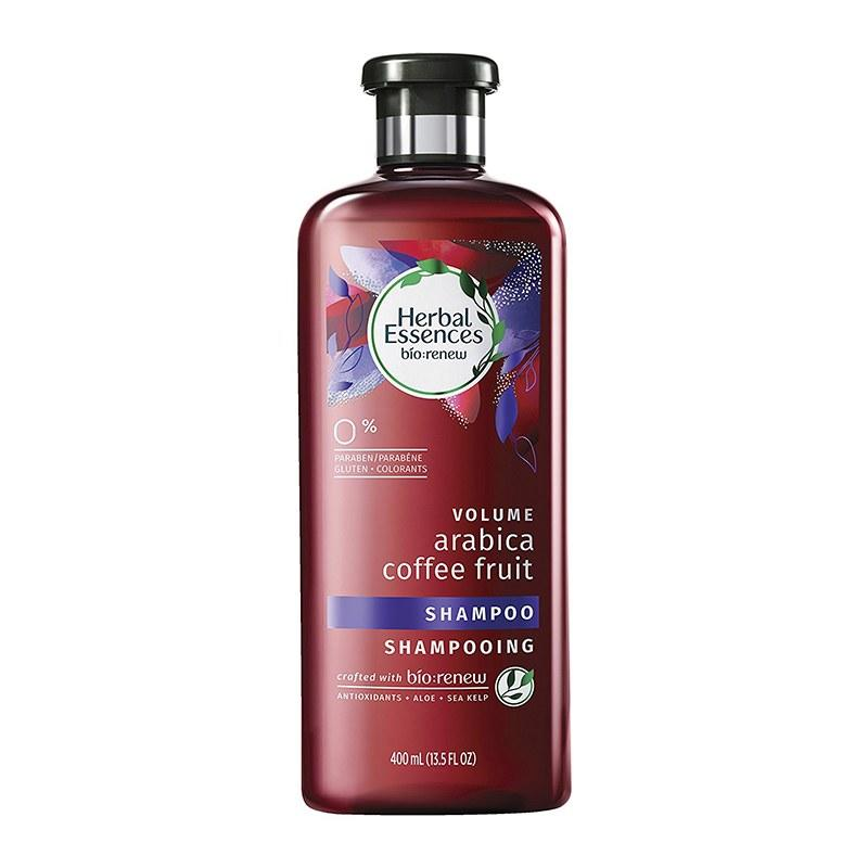 """<p><b>Leave out:</b> Silicones</p><p><b>Because:</b> They can make hair limp and greasy when you put them on your roots, says cosmetic chemist Joseph Cincotta.</p><p>Try: <b>Herbal Essences Volume Arabica Coffee Fruit Shampoo</b>, $5.99 (<a rel=""""nofollow"""" href=""""http://herbalessences.com/en-us/discover-products/collections/arabica-coffee-fruit/arabica-coffee-fruit-shampoo?mbid=synd_yahoobeauty"""">herbalessences.com</a>)</p>"""