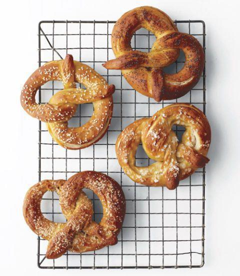 """<p>Your kids will be the first ones off the bus with the promise of warm soft pretzels waiting for them at home for an after-school snack. </p><p><em><a href=""""https://www.womansday.com/food-recipes/food-drinks/recipes/a11828/soft-pretzels-recipe/"""" rel=""""nofollow noopener"""" target=""""_blank"""" data-ylk=""""slk:Get the Soft Pretzels recipe."""" class=""""link rapid-noclick-resp"""">Get the Soft Pretzels recipe. </a></em></p>"""