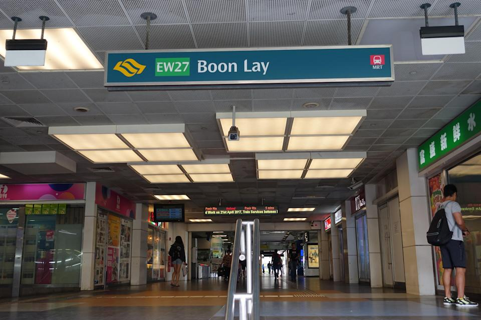 Boon Lay MRT Station Singapore (Yahoo News Singapore file photo)