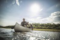 <p>An angler dad would love nothing more than celebrating Father's Day at a local fishing hole. You'll both love the chance to teach the kids something new while spending the day outside in nature. </p>