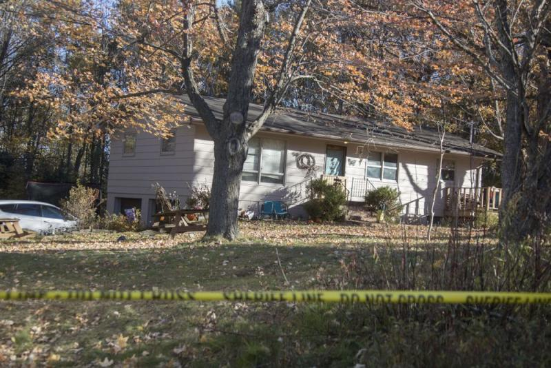 The Closs family house in Barron, Wisconsin, where Patterson allegedly killed Denise and James Closs before abducting Jayme.