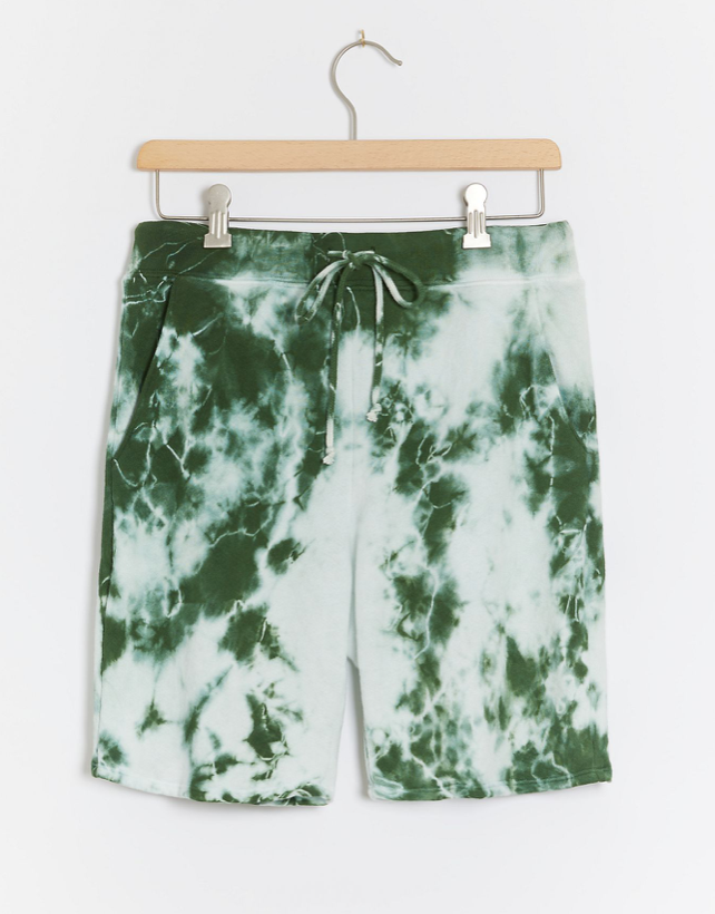 Velvet by Graham & Spencer Bowie Tie-Dye Shorts (Photo via Anthrpologie)