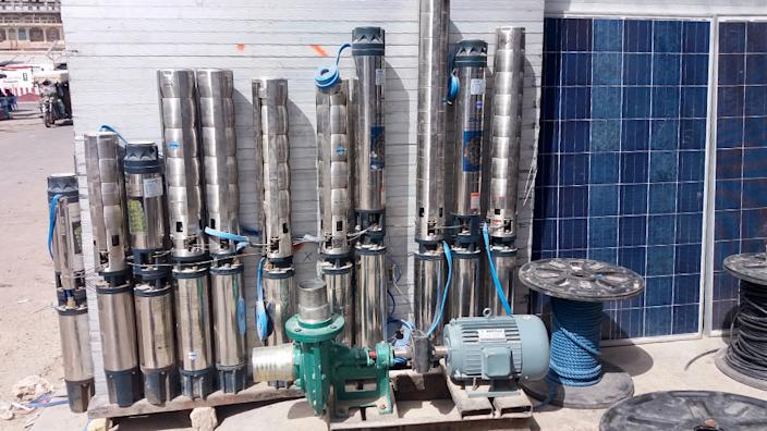 Once the equipment is bought, water is free