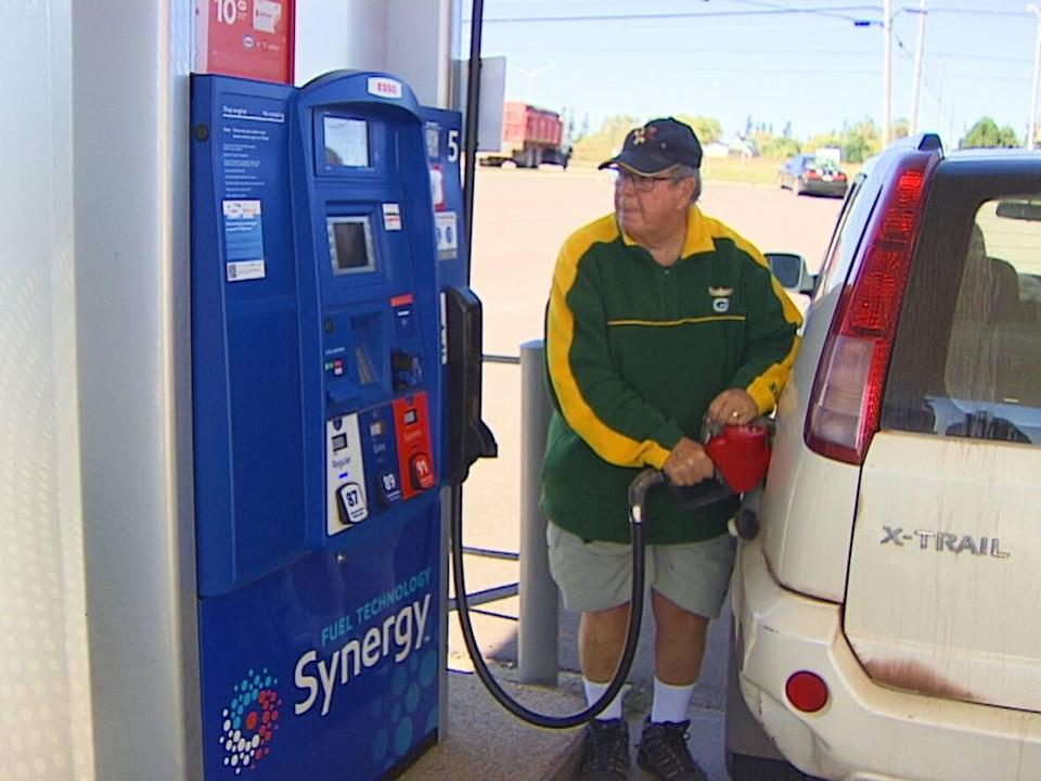 Alex Clerk says consumers are forced to pay the price if they want to travel across P.E.I. (Ken Linton/CBC - image credit)