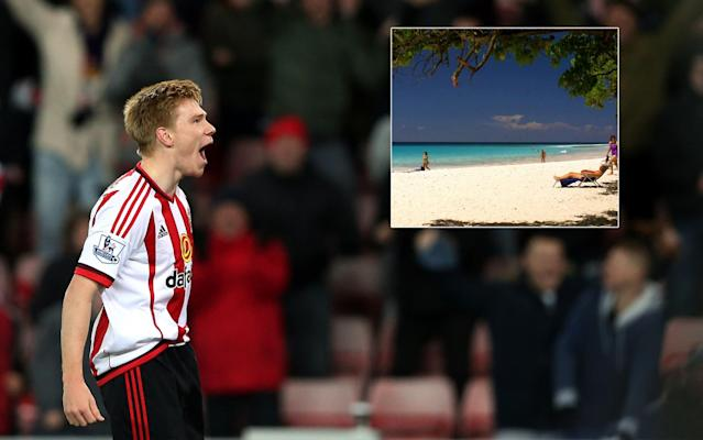 Duncan Watmore was on holiday in Barbados when disaster struck.