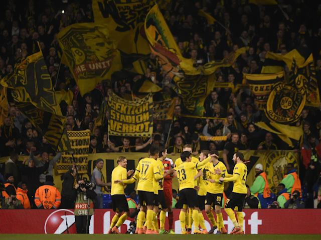 Borussia Dortmund currently sit third in the German Bundesliga: Getty