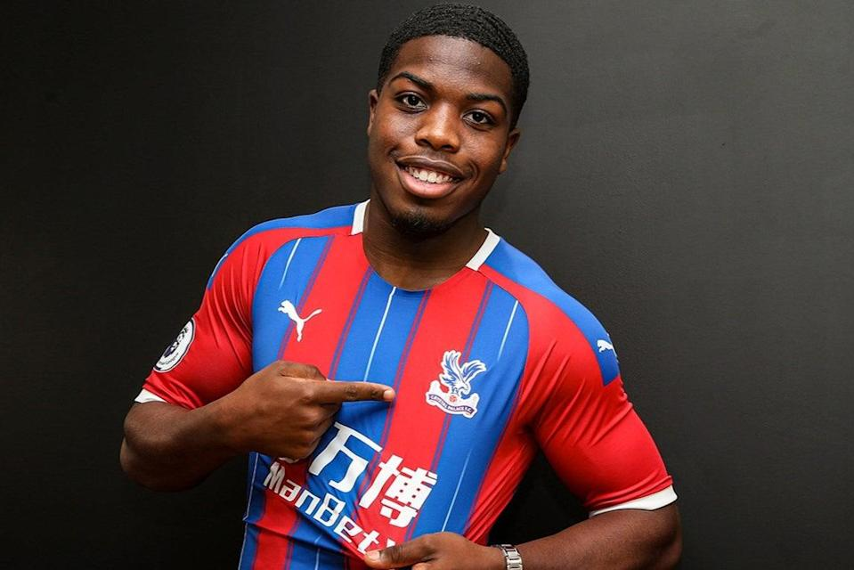 <p>Nathan Ferguson has yet to make his first-team debut for Crystal Palace</p> (Dan Weir / PPAUK for CPFC)