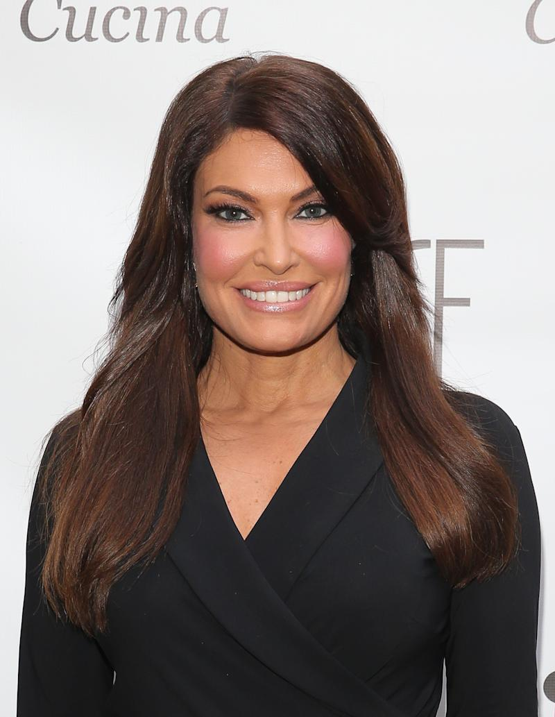16437ec8a89 Sources told HuffPost that Kimberly Guilfoyle was pushed to leave Fox News  because of her workplace conduct. (Photo  Rob Kim Getty Images)