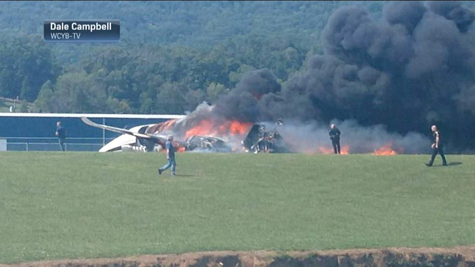 Elizabethton fire chief discusses Dale Jr. plane crash