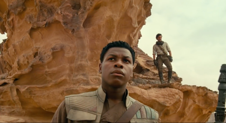 John Boyega as Finn (Credit: Lucasfilm/Disney)