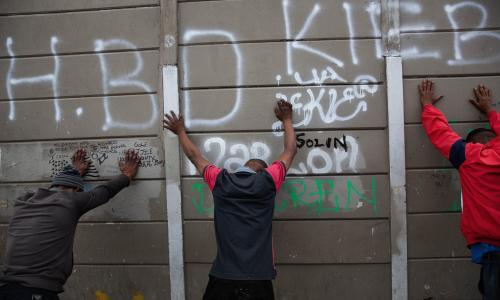 'Only we can change things': life in the gang-ridden other side of Cape Town