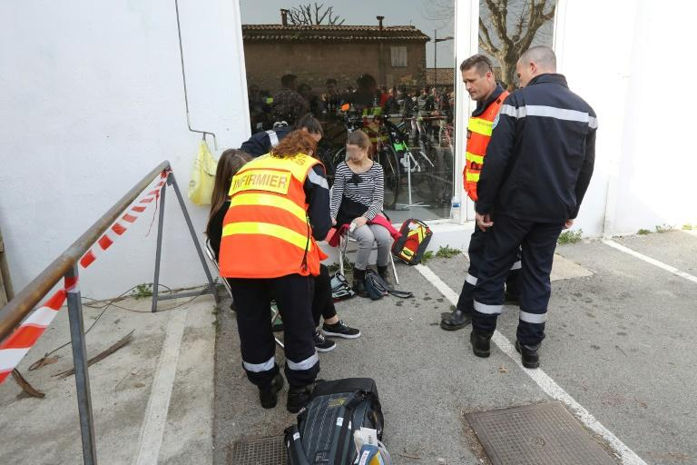 Eight people were injured in a school shooting in the French town of Grasse