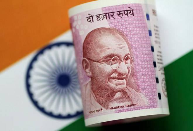 The rupee rose 54 paise intra day to hit a high of 73.58 per dollar  compared to its previous close of 74.12 in the forex market. <br />